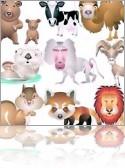 Грудное вскармливание у животных - разные интересные фото кормящих грудью животных и сосущих грудь щенков, котят, обезьянок и других малышей:)