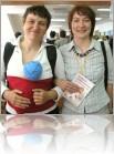 Киевские консультанты по грудному вскармливанию организовали хорошую конференцию для специалистов и одновременно - для кормящих мам...