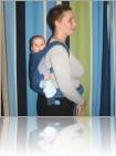 Май-слинг - основные позы для долгих прогулок с подросшими детками , которые не часто просят грудь