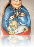Грудное вскармливание в глине :) Разные статуэтки, фигурки и другие изделия из керамики в этаком тематическом разрезе...