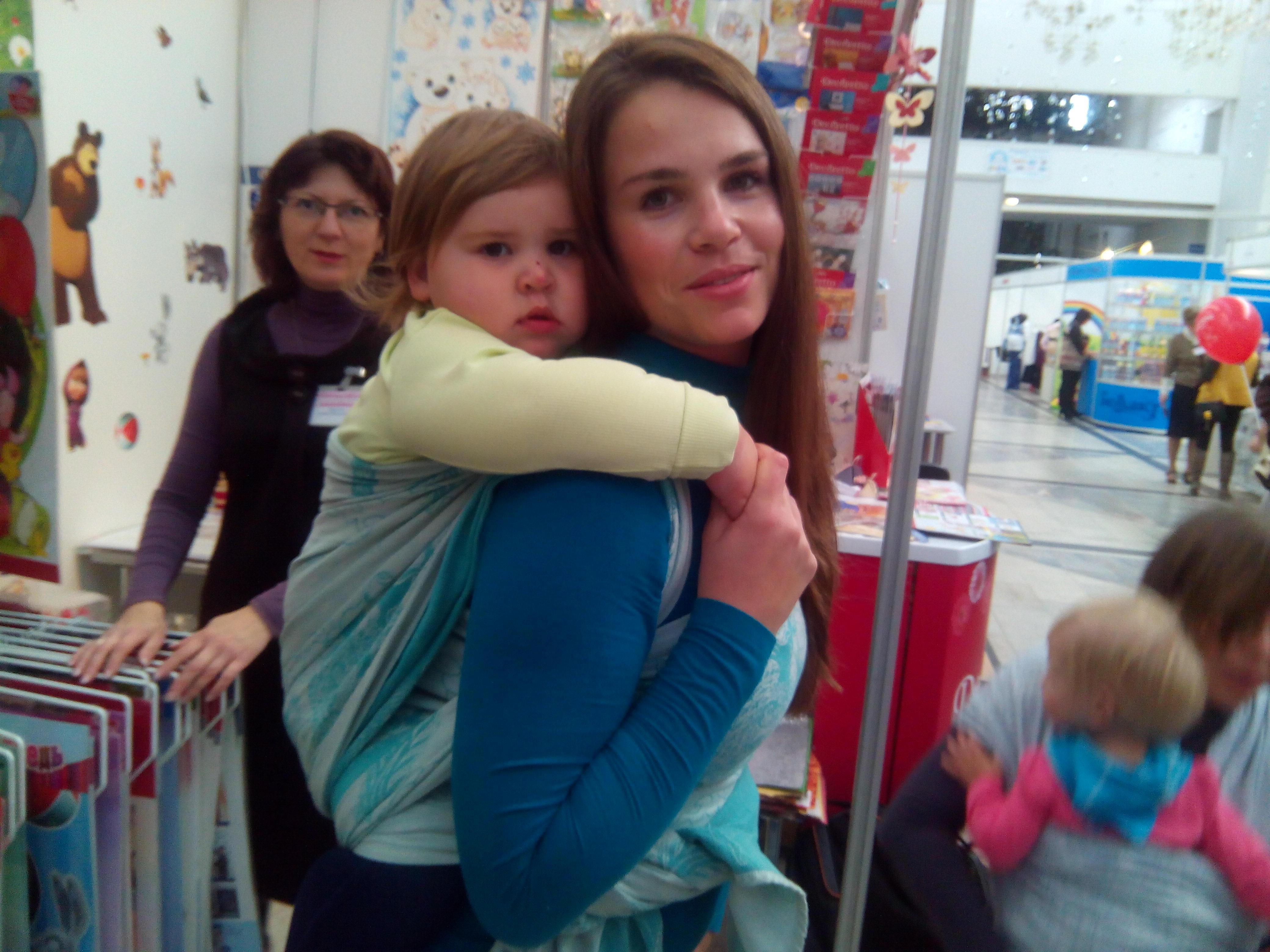 Консультанты по ГВ в Минске на детско-родительской выставке провели ряд семинаров и мероприятий - а это небольшой фотоотчет.