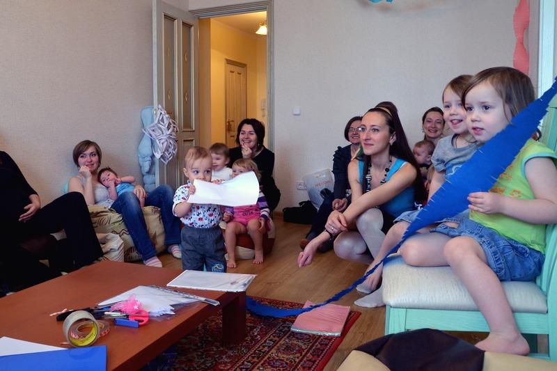 встреча кормящих мам в Семейной школе
