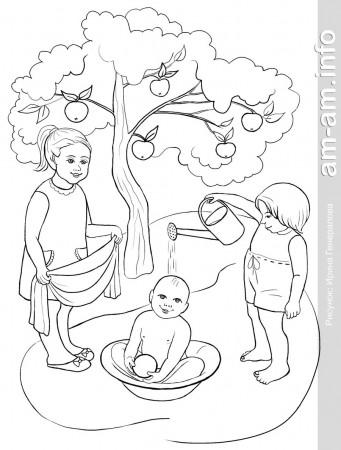 Бесплатные раскраски для детей 3 4 5 лет