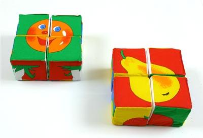 Фрукты-кубики