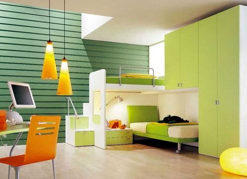 Возраст ребенка имеет большое значение при разделении комнаты на различные зоны: спальное место...