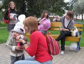 Акция в поддержку ГВ в Гродно, сентябрь 2009