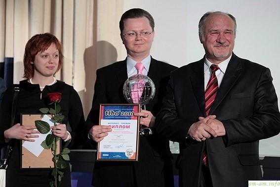 Детидетей на вручении премии Тибо-2010