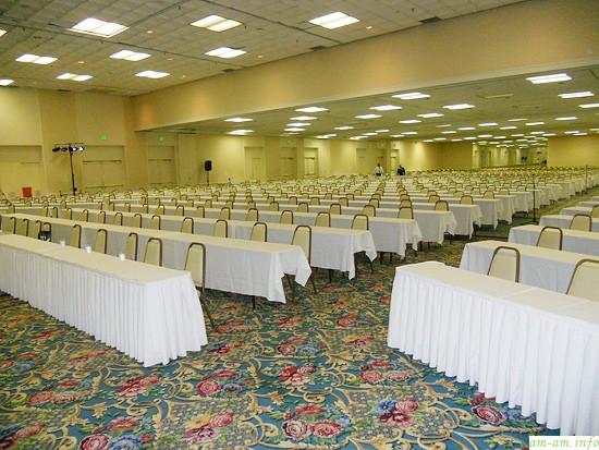 Основной зал конференции ILCA 2011