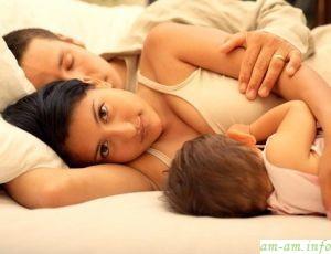 Сон вместе с мамой в кровати