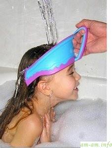 Шапочка на голову детям в ванне