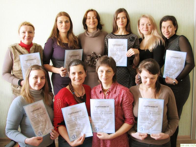 Первый выпуск минских консультантов в Семейной школе