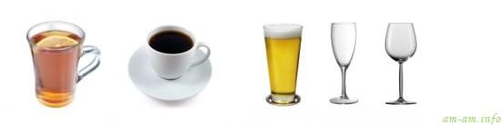 Разные напитки кормящим мамам