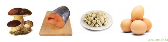 Другие продукты в рационе кормящей мамы