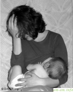 Кормящая мама нервничает