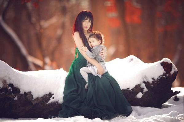 гв ребенка зимой на улице