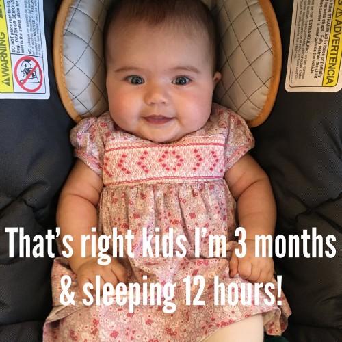 сон ребенка 12 часов в 3 месяца