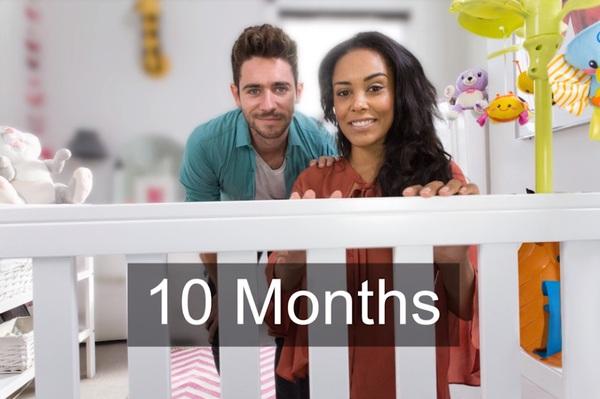зрение новорожденного 10 месяцев