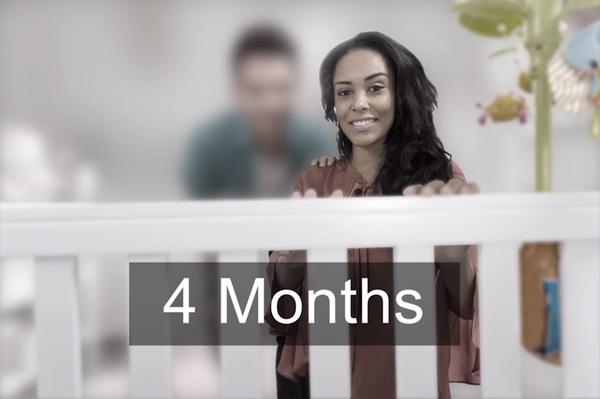 зрение новорожденного 4 месяца