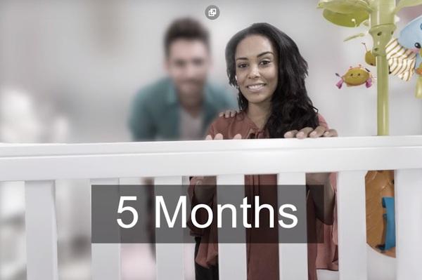 зрение новорожденного 5 месяцев