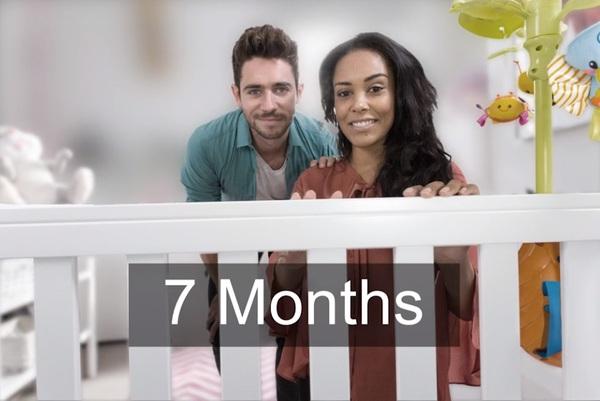 зрение новорожденного 7 месяцев