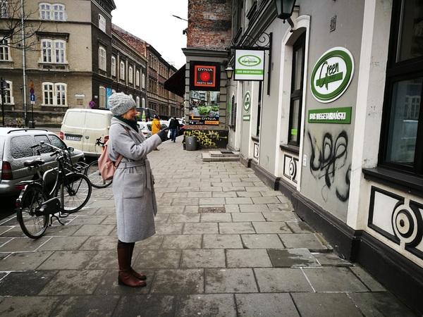 Вегетарианское кафе в Кракове
