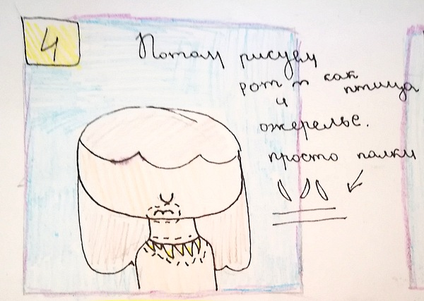 нарисовать девочку ребенку 10 лет
