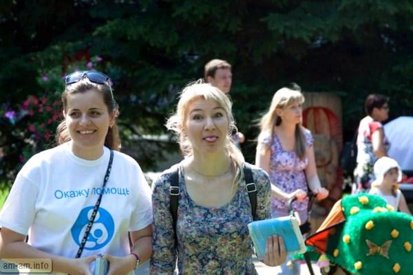 консультация по ГВ в парке Горького, Парад колясок, Минск 2014